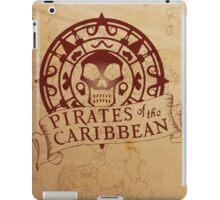 Pirates of the Caribbean Medallion 2 iPad Case/Skin