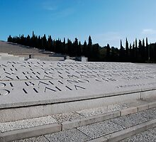 Military Cemetery in Italy by jojobob