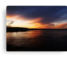 end Canvas Print