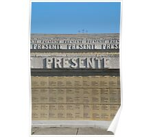 Redipuglia Military Cemetery in Italy Poster