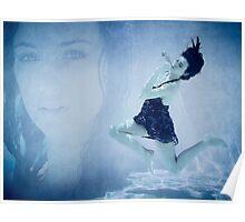 Underwater Angel Poster