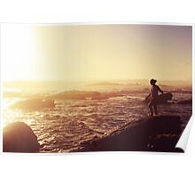 today was a pretty day Poster