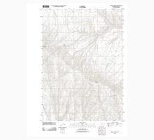 USGS Topo Map Oregon Brady Creek 20110831 TM Baby Tee