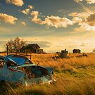 Old Fords & Farms-HDR by John  De Bord Photography