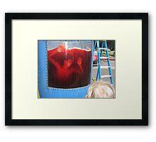 Kool Aid Death Framed Print
