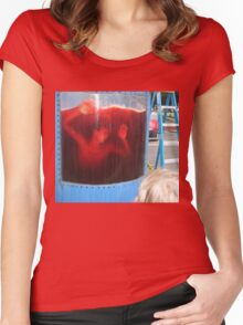 Kool Aid Death Women's Fitted Scoop T-Shirt