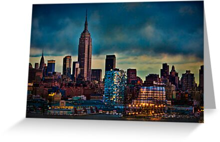 Midtown Manhattan Sunset by Chris Lord