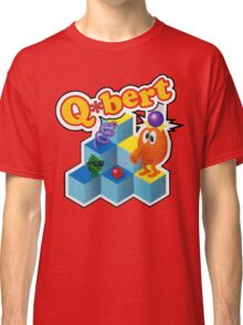 Q*Bert Logo Classic T-Shirt