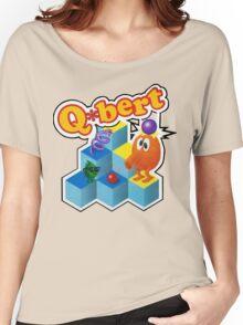 Q*Bert Logo Women's Relaxed Fit T-Shirt