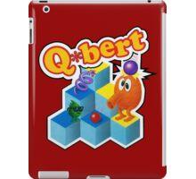 Q*Bert Logo iPad Case/Skin