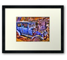 Vintage Car II Framed Print