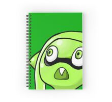 I am a kid and also a squid Spiral Notebook
