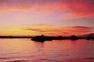 Sunset in Genova by Sergey Martyushev