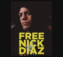 FREE NICK DIAZ - Nevada State Athletic Commission (NSAC) ban Nick Diaz for 5 years! by TomDesigns