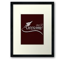 Awesome Since 1930 Framed Print