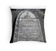 Gravestones 1 Throw Pillow