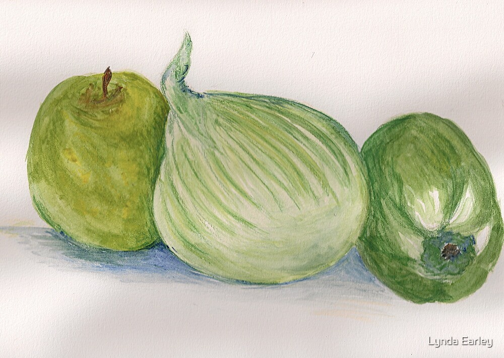 Lora Loka's Fruit and Vegetables #2 by Lynda Earley