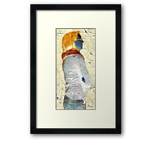 Paper Woman No. 1 Framed Print
