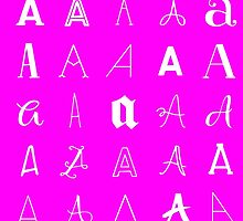 Typography Love (A) -- In Pink by Ray  of Light