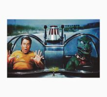 KIRK AND GORN BATMOBILE Oil Painting On Canvas Kids Clothes