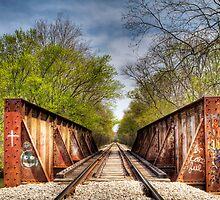 Rail Road Tracks by amdiederich