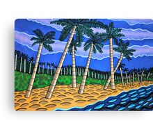Jungle Beach  Canvas Print