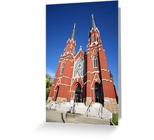 Church Architecture Greeting Card