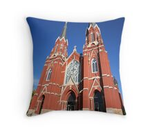 Church Architecture Throw Pillow