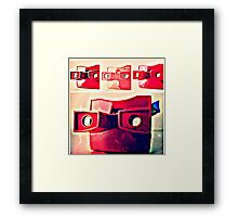 Viewmaster Framed Print