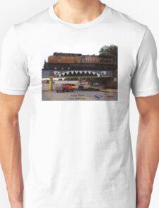 Bridge Shark West with Train, Enid Unisex T-Shirt