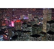 High rise buildings Photographic Print