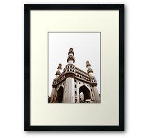 Charminar Monument Framed Print