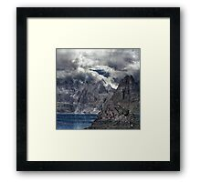 Life in a Landscape of Flying. Framed Print