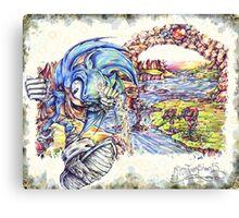 Sonic BOOOM! Canvas Print