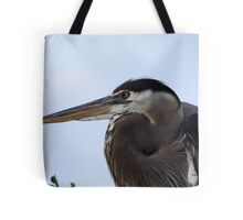 Great Blue Heron Portrait Tote Bag