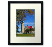 Mackinac Light house  Framed Print