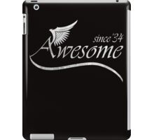 Awesome Since 1934 iPad Case/Skin