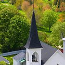 Church in Mackinac island by snehit