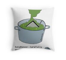 Boil your Computer Throw Pillow