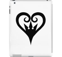 Kingdom Hearts - Heart Crown iPad Case/Skin