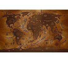 Maps Photographic Print
