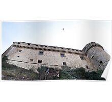 Bardi Castle Italy Poster
