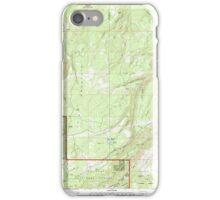 USGS Topo Map Oregon Ketchum Reservoir 280399 1994 24000 iPhone Case/Skin