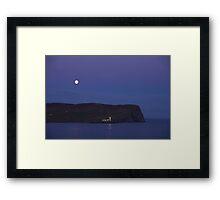 Lighthouse Isle of Noss Shetland Islands Scotland UK Framed Print