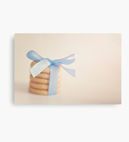 wrapped butter biscuits Canvas Print