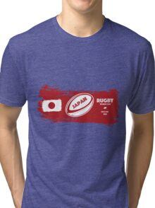Japan World Cup Rugby Tri-blend T-Shirt