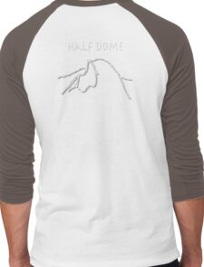 Half Dome Men's Baseball ¾ T-Shirt