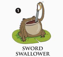 Sword Swallower by David Barneda
