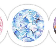 Floral Triad Sticker
