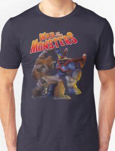 War of the Monsters Cover Art Unisex T-Shirt